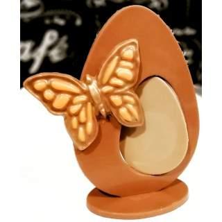 Huevo de Chocolate de Fresa y Chocolate Blanco