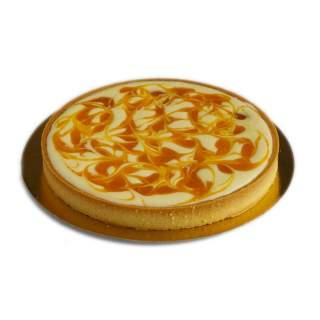 Tartaleta Mediana de Queso Crema, Mango y Maracuyá