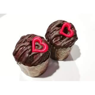Brioche individual de chocolate