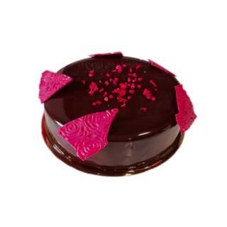 Tarta de Chocolate Negro y Frambuesa