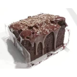 Bizcocho individual de chocolate negro